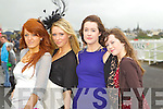 Pictured at Listowel Races, Ladies Day on Friday from left: Niamh Bateman, Ashley Costello, Elaine Murphy, Claire Murphy (all from Limerick).