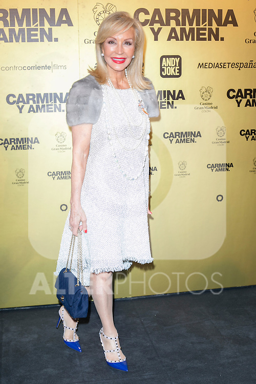 "Carmen Lomana  attend the Premiere of the movie ""Carmina y Amen"" at the Callao Cinema in Madrid, Spain. April 28, 2014. (ALTERPHOTOS/Carlos Dafonte)"
