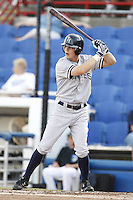 July 11, 2009:  Seth Fortenberry of the Tampa Yankees during a game at Dunedin Stadium in Dunedin, FL.  Tampa is the Florida State League High-A affiliate of the New York Yankees.  Photo By Mike Janes/Four Seam Images