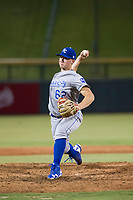 AZL Royals relief pitcher Charlie Neuweiler (62) delivers a pitch to the plate against the AZL Cubs on July 19, 2017 at Sloan Park in Mesa, Arizona. AZL Cubs defeated the AZL Royals 5-4. (Zachary Lucy/Four Seam Images)