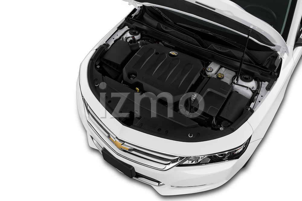 Car Stock 2019 Chevrolet Impala 1LT Door Sedan Engine  high angle detail view