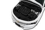 Car Stock 2019 Chevrolet Impala 1LT Door Sedan Engine  high angle detail view
