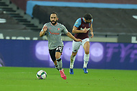 Erhun Oztumer of Charlton Athletic FC during West Ham United vs Charlton Athletic, Caraboa Cup Football at The London Stadium on 15th September 2020
