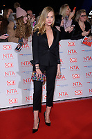Laura Whitmore<br /> arriving for the National Television Awards 2018 at the O2 Arena, Greenwich, London<br /> <br /> <br /> ©Ash Knotek  D3371  23/01/2018