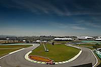 ATENCAO EDITOR: FOTO EMBARGADA PARA VEICULO INTERNACIONAL - SAO PAULO, SP 25 DE NOVEMBRO 2012 - FORMULA 1 GP BRASIL - O piloto espanhol Fernando Alonso da Ferrari durante o Grande Premio do Brasil de Formula 1, no autodromo de Interlagos, zona sul da capital, neste domingo.FOTO: PIXATHLON - BRAZIL PHOTO PRESS
