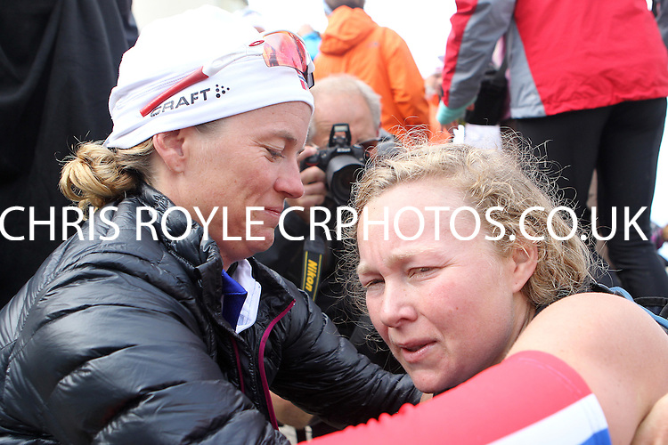 Race number 257 - Cesilie Skollerud Hegna - Sunday Norseman Xtreme Tri 2012 - Norway - photo by chris royle / boxingheaven@gmail.com