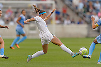 Chicago, IL - Saturday July 30, 2016: Shea Groom during a regular season National Women's Soccer League (NWSL) match between the Chicago Red Stars and FC Kansas City at Toyota Park.