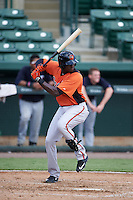 Baltimore Orioles Yaisel Mederos (51) during an instructional league game against the Minnesota Twins on September 22, 2015 at Ed Smith Stadium in Sarasota, Florida.  (Mike Janes/Four Seam Images)
