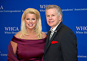 Rita Cosby and Tomaczek Bednarek arrive for the 2017 White House Correspondents Association Annual Dinner at the Washington Hilton Hotel on Saturday, April 29, 2017.<br /> Credit: Ron Sachs / CNP