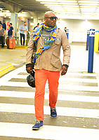 MIAMI, FL - APRIL 10: Actor Jimmy Jean-Louis is seen at Miami International Airport on April 10, 2018 in Miami, Florida. <br /> CAP/MPI10<br /> &copy;MPI10/Capital Pictures