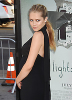 HOLLYWOOD, CA - JULY 19: Actress Teresa Palmer attends the premiere of New Line Cinema's 'Lights Out' at TCL Chinese Theatre on July 19, 2016 in Hollywood, California.<br /> CAP/ROT/TM<br /> &copy;TM/ROT/Capital Pictures /MediaPunch ***NORTH AND SOUTH AMERICAS ONLY***