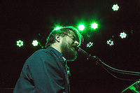 Marco Benevento plays a concert at Brooklyn Bowl in Brooklyn, New York on December 19, 2014.