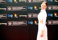 Actress Manuela Velles posses in the photocall of the 61 San Sebastian Film Festival, in San Sebastian, Spain. September 20, 2013. (ALTERPHOTOS/Victor Blanco) /NortePhoto