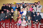 Bash: Rowan OShea, Muing, Oakpark (seated sixth from left) celebrating his18th birthday in The Imperial Hotel, Tralee, on Saturday evening, along with family and  friends..