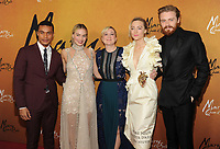 NEW YORK, NY - December 4: Ismael Cruz Cordova, Margot Robbie, Josie Rourke, Saoirse Ronan, Jack Lowden attends the 'Mary Queen of Scots' New York Premiere at the Paris Theater on December 4, 2018 in New York City.<br /> CAP/MPI/JP<br /> &copy;JP/MPI/Capital Pictures