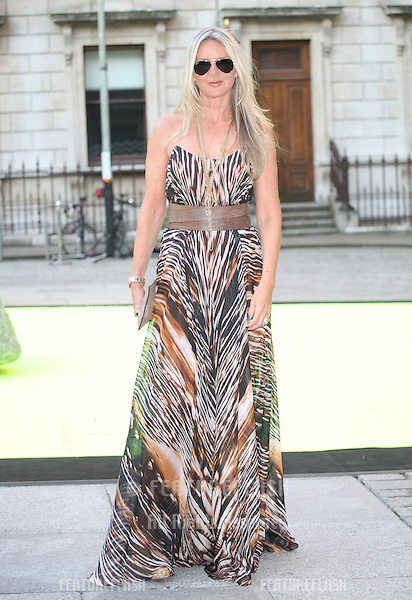 Amanda Wakeley arriving for the Royal Academy Of Arts Summer Exhibition Party, RAA, London. 05/06/2013 Picture by: Alexandra Glen / Featureflash