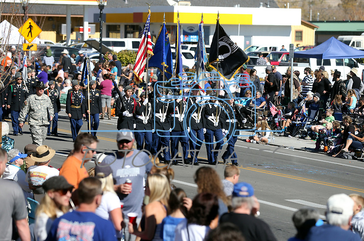 Images from the 79th Nevada Day parade in Carson City, Nev., on Saturday, Oct. 28, 2017. <br />