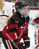 Christina Zalewski (NU - 11) -  The Boston College Eagles defeated the Northeastern University Huskies 2-1 in overtime to win the 2017 Hockey East championship on Sunday, March 5, 2017, at Walter Brown Arena in Boston, Massachusetts.