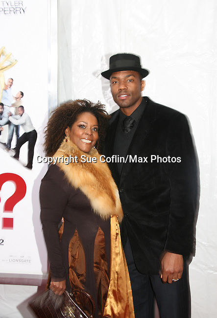 Phynjuar and Tobias Truvillion (One Life To Live) attend the premiere of Tyler Perry's Why Did I Get Married Too? on March 22, 2010 at the School Of Visual Ats Theater, New York City, NY. (Photos by Sue Coflin/Max Photos)