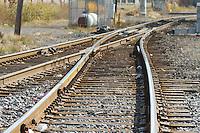 train tracks in  detroit