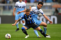 Alejandro Gomez of Atalanta and Marco Parolo of Lazio compete for the ball <br /> Roma 5-5-2019 Stadio Olimpico Football Serie A 2018/2019 SS Lazio - Atalanta <br /> Foto Andrea Staccioli / Insidefoto