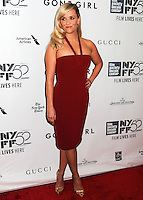 NEW YORK CITY, NY, USA - SEPTEMBER 26: Reese Witherspoon arrives at the 52nd New York Film Festival Opening Night Gala Presentation and World Premiere Of 'Gone Girl' held at Alice Tully Hall on September 26, 2014 in New York City, New York, United States. (Photo by Celebrity Monitor)