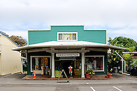 Shop in main street of Honoka'a, Big Island, Hawaii RIGHTS MANAGED LICENSE AVAILABLE FROM www.PhotoLibrary.com