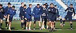 Rangers training at Ibrox