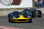 Jim Click races his 1966 Ford GT40 at the 32nd Rolex Monterey Historic Automobile Races, 2005