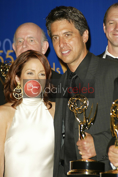 Patricia Heaton and Ray Romano
