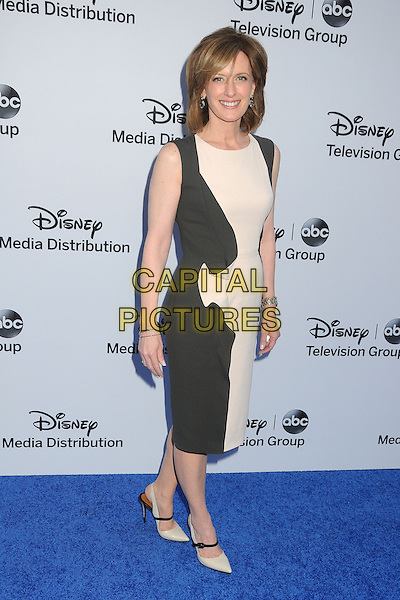 Anne Sweeney.Disney Media Networks International Upfronts 2013 held at Walt Disney Studios, Burbank, California, USA..May 19th, 2013.full length black white sleeveless dress .CAP/ADM/BP.©Byron Purvis/AdMedia/Capital Pictures