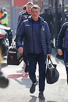 Nottingham Forest coach Roy keane arrives prior to the game during the Sky Bet Championship match between Nottingham Forest and Swansea City at City Ground, Nottingham, England, UK. Saturday 30 March 2019
