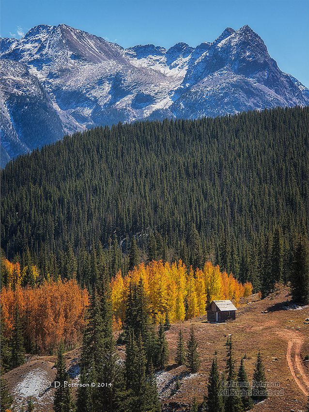 Lonesome Splendor, San Juan Mountains, Colorado