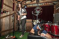 Jackson Firebird performing at The Retreat, Melbourne, 7 June 2012