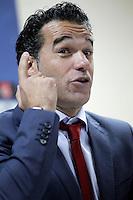 Getafe's coach Luis Garcia in press conference after La Liga match.December 15,2012. (ALTERPHOTOS/Acero) /NortePhoto