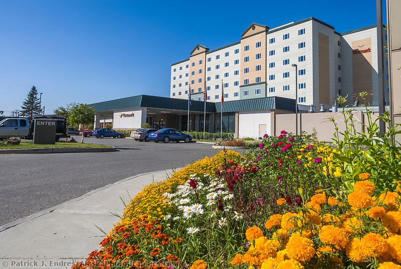 Westmark Hotel, downtown Fairbanks, Alaska