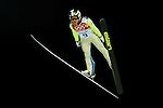Seou Choi of Korea during the Men's Normal Hill Individual of the 2014 Sochi Olympic Winter Games at Russki Gorki Ski Juming Center on February 9, 2014 in Sochi, Russia. Photo by Victor Fraile / Power Sport Images