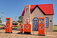In 1929,  Mclean is home to the first Phillips Petroleum  station. The cottage styl was made to blend into the neighborhoods.  Station operated for nearly fifty years, untill closing in 1977.  It has been restored by the Texas Route 66 Association.