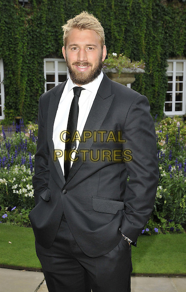 LONDON, ENGLAND - AUGUST 28: Chris Robshaw attends the Mo Farah Foundation &quot;A Night Of Champions&quot; Dinner, The Hurlingham Club, Ranelagh Gardens, on Thursday August 28, 2014 in London, England, UK. <br /> CAP/CAN<br /> &copy;Can Nguyen/Capital Pictures
