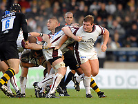 Wycombe. GREAT BRITAIN, James BUCKLAND, during the, Guinness Premiership game between, London Wasps and Leicester Tigers on 25/11/2006, played at the Adam Park, ENGLAND. Photo, Peter Spurrier/Intersport-images]