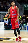 CSKA Moscow Will Clyburn during Turkish Airlines Euroleague match between Real Madrid and CSKA Moscow at Wizink Center in Madrid, Spain. November 29, 2018. (ALTERPHOTOS/Borja B.Hojas)