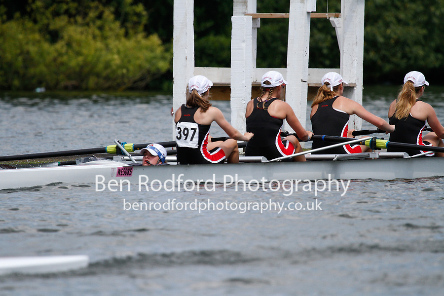 Race: 340 Event: J4+ Semi-Final - Godolphin Lat  vs St Paul's Sch (USA) <br /> <br /> Henley Women's Regatta 2017<br /> <br /> To purchase this photo, or to see pricing information for Prints and Downloads, click the blue 'Add to Cart' button at the top-right of the page.