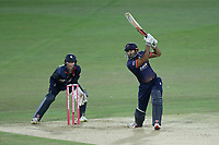 Varun Chopra in batting action for Essex during Kent Spitfires vs Essex Eagles, Vitality Blast T20 Cricket at the St Lawrence Ground on 2nd August 2018
