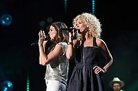 11 June 2017 - Nashville, Tennessee - Karen Fairchild, Kimberly Schlapman, Little Big Town. 2017 CMA Music Festival Nightly Concert held at Nissan Stadium. Photo Credit: Laura Farr/AdMedia