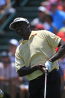 Vijay Singh (FIJ) tees off the 1st tee to start his match Sunday's Final Round of the 94th PGA Golf Championship at The Ocean Course, Kiawah Island, South Carolina, USA 11th August 2012 (Photo Eoin Clarke/www.golffile.ie)