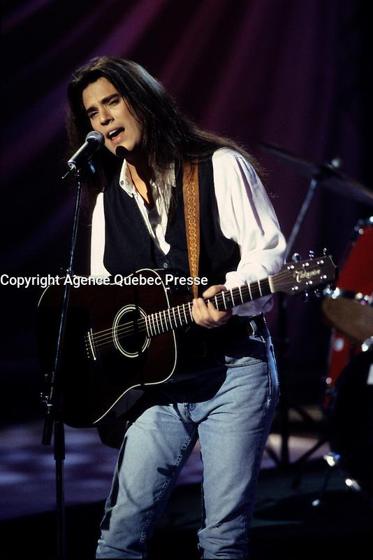 Les B B en  concert d&eacute;cembre 1996<br /> <br /> <br /> Photo : (c) by Pierre Roussel / agence Qu&eacute;bec Presse