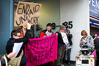 "31.03.2014 - ""YMCA - End Workfare! Stop Sanctions!"" - Boycott Workfare Demo"