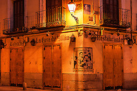 Spanish taberna, Madrid, Spain