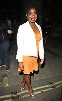 Clara Amfo at the Royal Academy of Arts Summer Exhibition 2018 VIP preview party, Royal Academy of Arts, Burlington House, Piccadilly, London, England, UK, on Wednesday 06 June 2018.<br /> CAP/CAN<br /> &copy;CAN/Capital Pictures