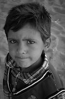 Los mas vulnerables, los niños refugiados sirios